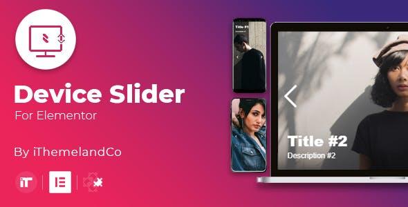 Device Slider For Elementor