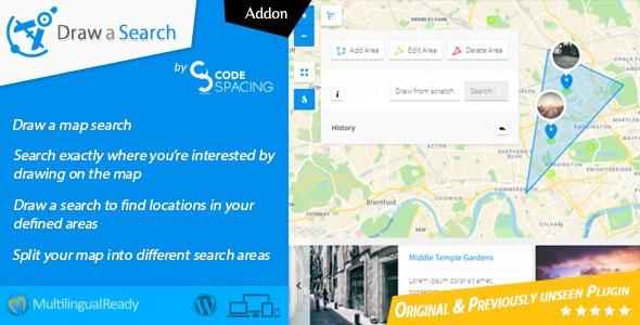 Progress Map, Draw a Search - Wordpress Plugin - CodeCanyon Item for Sale