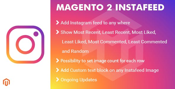 Magento 2 InstaFeed Extension - CodeCanyon Item for Sale