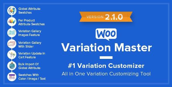 WooCommerce Variation Master by makewebbetter | CodeCanyon