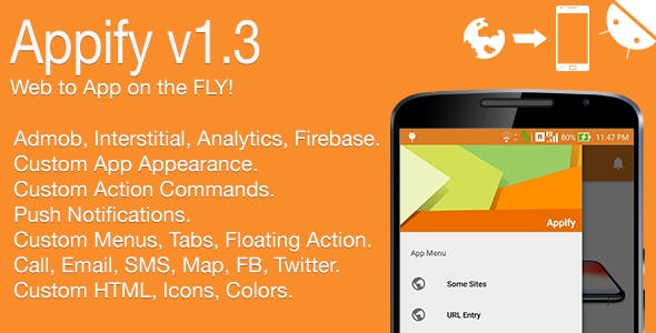 Appify - Web to App on the FLY! Android Full Application v1.3