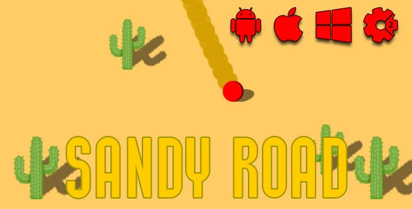 Sandy Road - HTML5 Game (CAPX) - CodeCanyon Item for Sale
