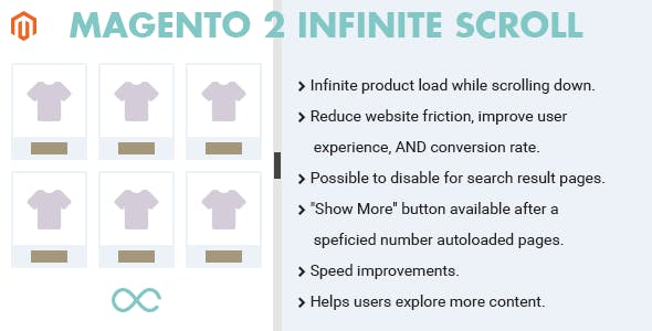 Magento 2 Infinite Scroll Extension