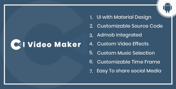 CI Video Maker Android App by conceptionitechnology | CodeCanyon