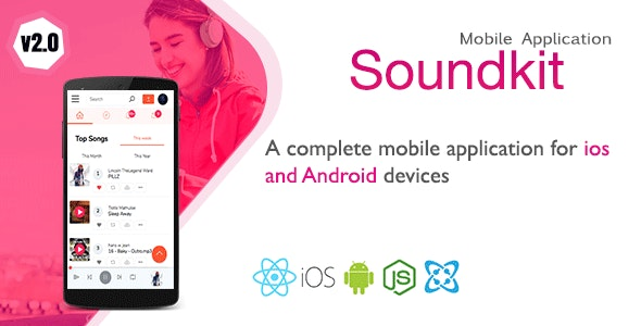 Soundkit - Mobile Application for Ios and Android - CodeCanyon Item for Sale