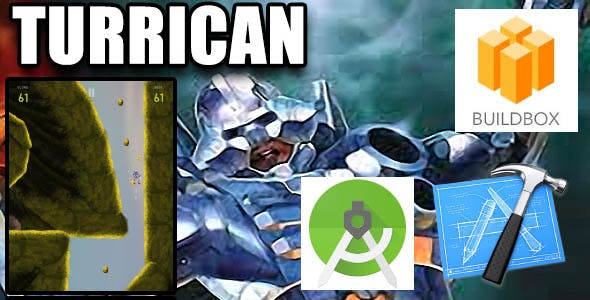 Turrican Mobile Buildbox IOS Android