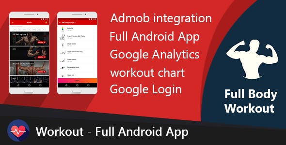 Workout - Full Android App