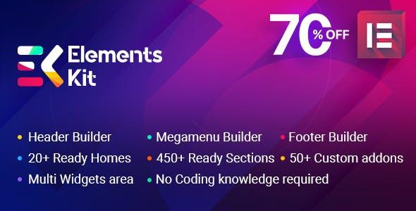 ElementsKit - The Ultimate Addons for Elementor Page Builder