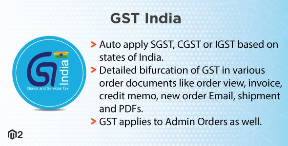 Magento 2 Indian GST