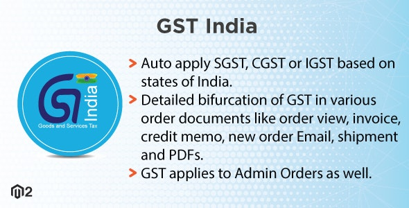 Magento 2 Indian GST by meetanshi | CodeCanyon