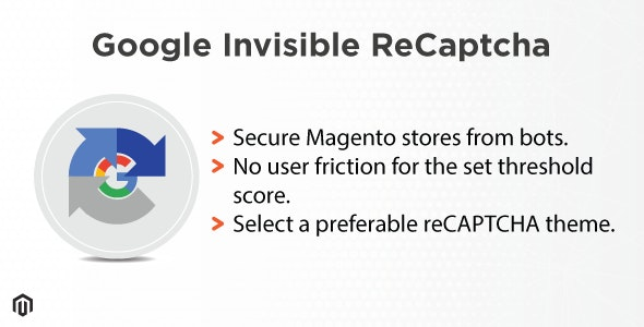 Magento Google Invisible reCAPTCHA - CodeCanyon Item for Sale