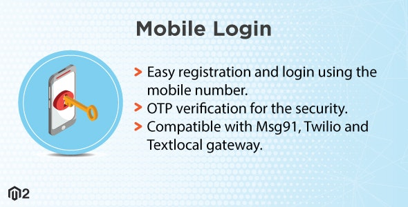 Magento 2 Mobile Login - CodeCanyon Item for Sale