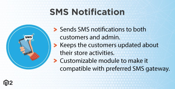 Magento 2 SMS Notification - CodeCanyon Item for Sale