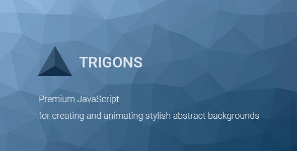 Trigons - Create and Animate Abstract SVG Images