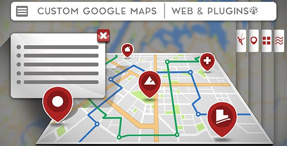 Awesome Google maps for OpenCart - 100% fully customizable.