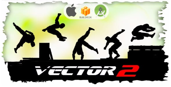 Vector Parkour 2 Full Buildbox Template
