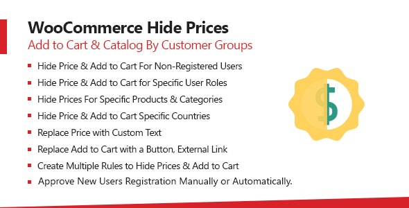 WooCommerce Hide Price & Add To Cart Button Plugin - CodeCanyon Item for Sale