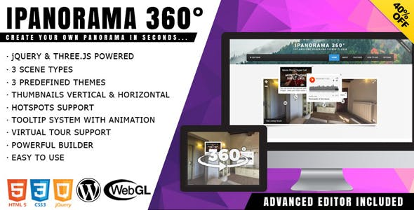 iPanorama 360° - Virtual Tour Builder for WordPress        Nulled