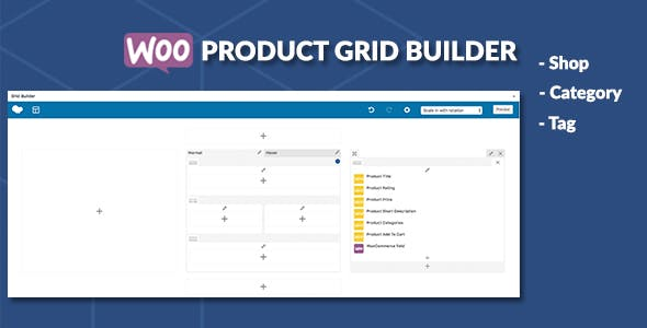 WooCommerce Product Grid Builder