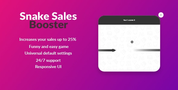 Snake Sales Booster - CodeCanyon Item for Sale