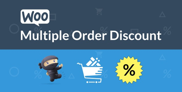 WooCommerce Multiple Order Discount - CodeCanyon Item for Sale