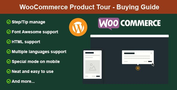 WooCommerce Product Tour - Buying Guide