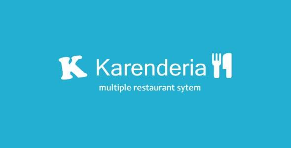Karenderia Multiple Restaurant System        Nulled