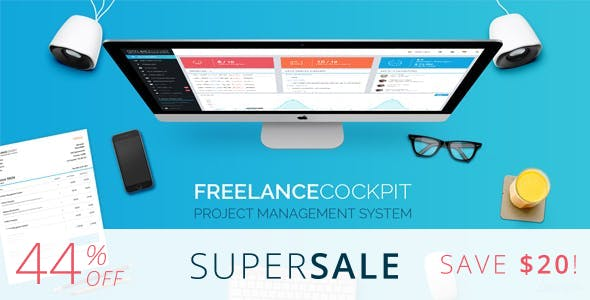 Freelance Cockpit 3 - Project Management and CRM        Nulled