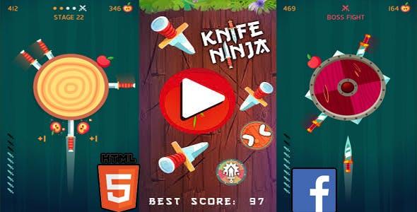 KnifeBreak HTML5 GAME + FB ADS+ READY FOR PUBLISH