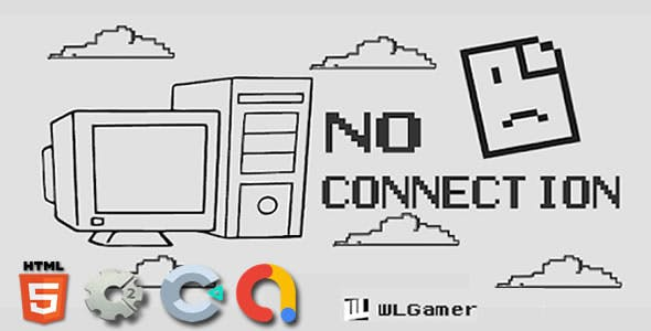 No Connection - Construct2 Html5 Game