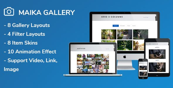 Maika - Gallery Plugin for WordPress