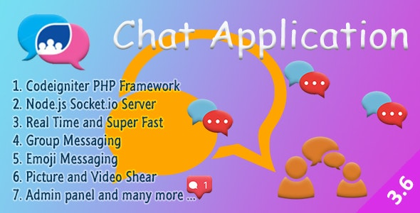 Chat Manager - Codeigniter ( Socket.io) Node.js - CodeCanyon Item for Sale