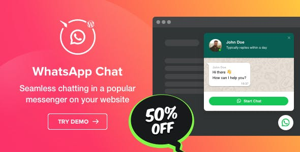 WhatsApp Chat - WordPress WhatsApp Chat plugin