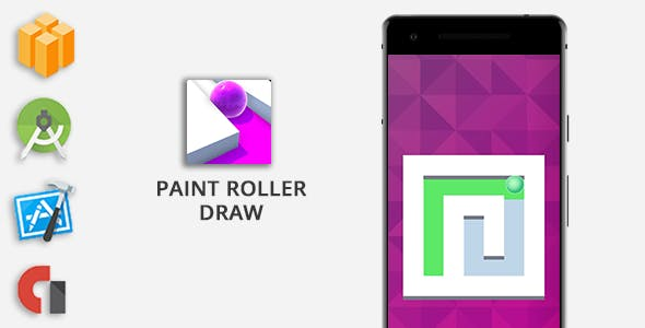 Paint Roller Draw - Buildbox Game