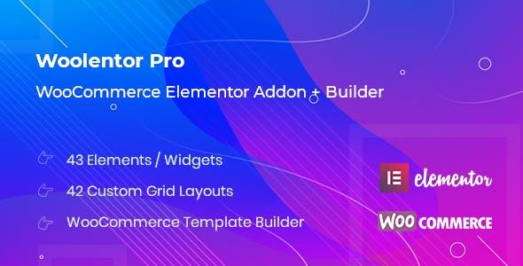 WooLentor Pro – WooCommerce Page Builder Elementor Addon