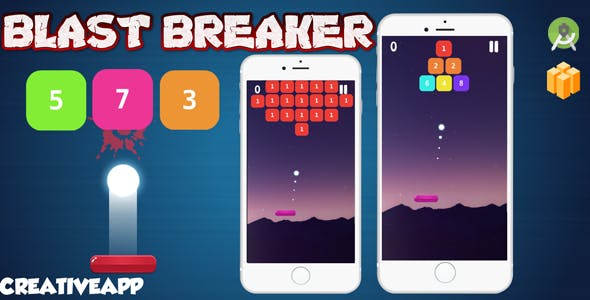 Blast Breaker (android studio- Admob Buildbox 2.3.3 )