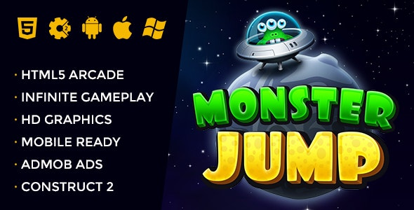 Monster Jump - CodeCanyon Item for Sale