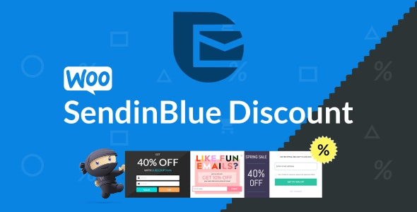 WooCommerce SendinBlue Discount - CodeCanyon Item for Sale