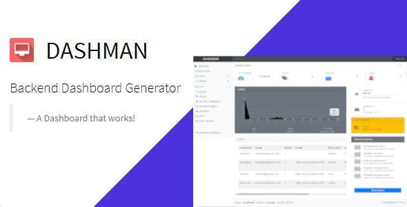 Dashman - Functional Dashboard Generator