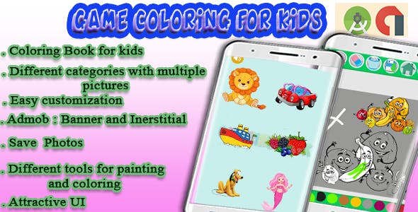 Coloring Game - Android Project with Admob