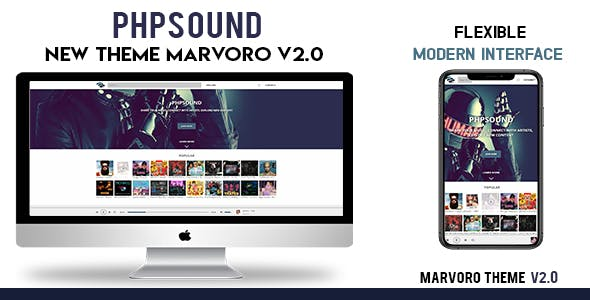 Marvoro Theme for phpSound