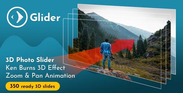 Glider 3D Photo Slider v1.7