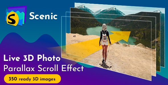 Scenic 3D Photo Parallax v1.6 - CodeCanyon Item for Sale