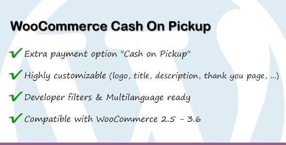 WooCommerce Cash On Pickup