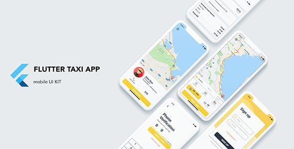 Flutter Taxi App Customer UI KIT by FlutterThemes | CodeCanyon