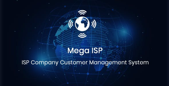 Mega ISP - ISP Company Customer Management CMS