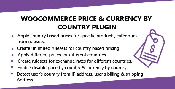 WooCommerce Price & Currency By Country Plugin