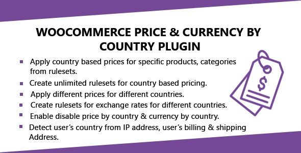 WooCommerce Price & Currency By Country Plugin by codeincept | CodeCanyon