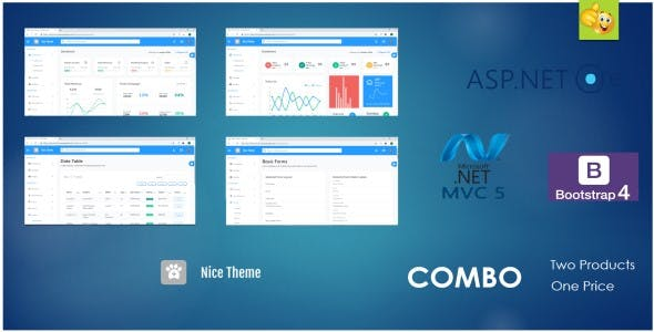 Nice Theme Combo - Dashboard Admin Template