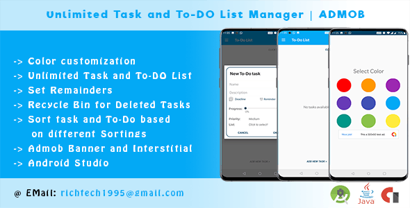To-Do List, Tasks, Notes & Reminders | To-Do Remainder| ADMOB